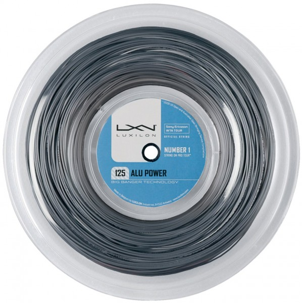 Luxilon Alu Power Silver 1,25mm Saitenrolle 220m