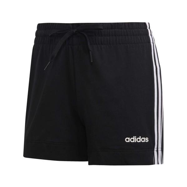 Adidas Damen Short 3 Streifen schwarz/weiß