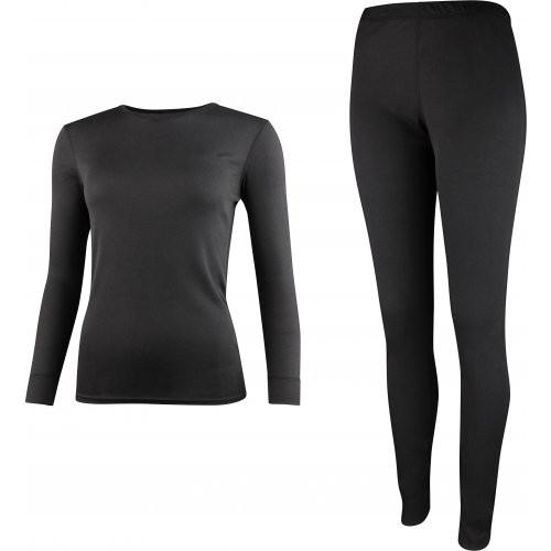 High Colorado Damen Riga 3-L Underwear Set Funktionsunterwäsche schwarz