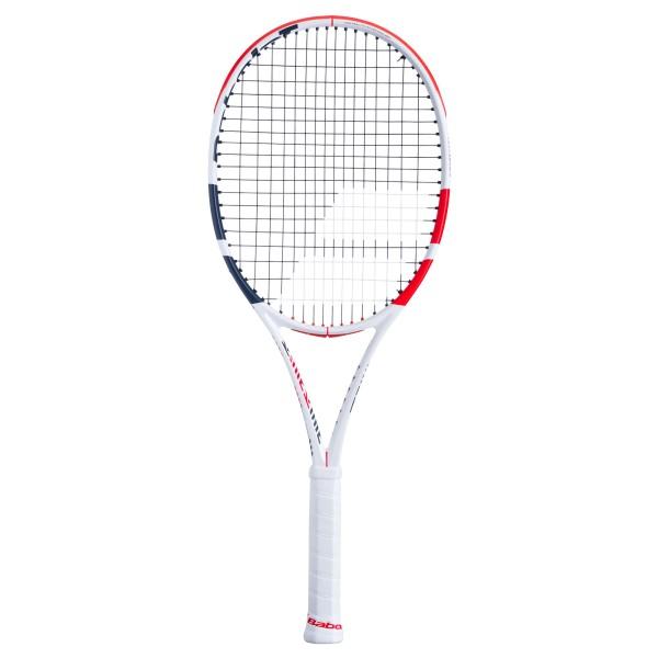 Babolat Pure Strike Lite Tennisschläger unbesaitet weiß-rot-schwarz