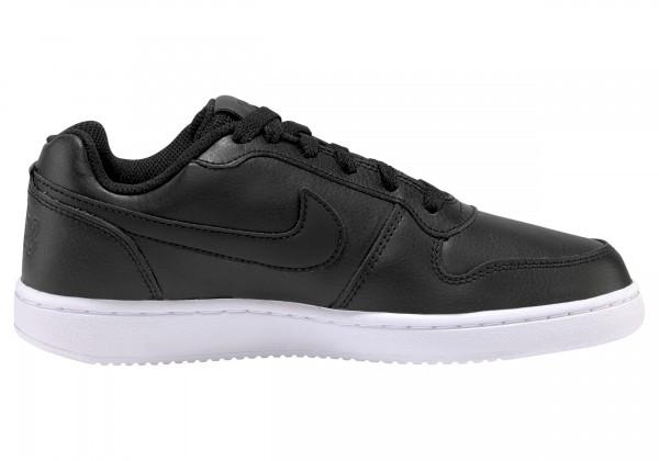 Nike Damen Ebernow Low Freizeitschuh schwarz-weiß