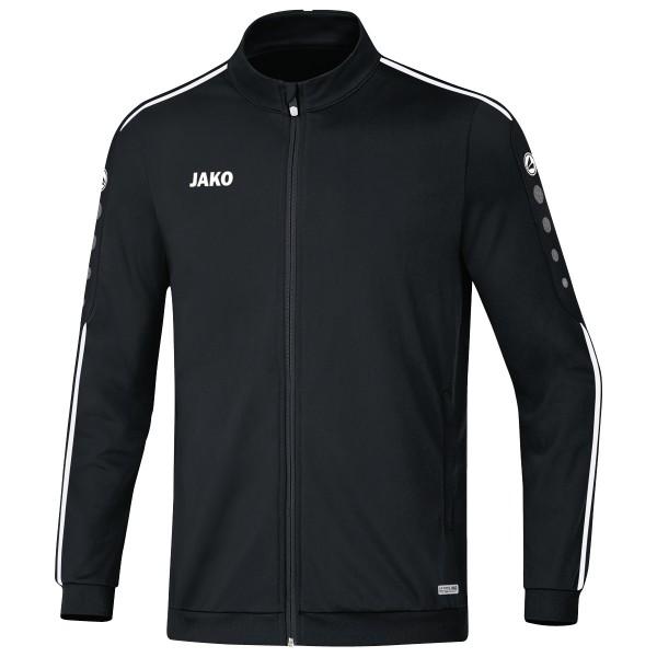 Jako Herren Striker 2.0 Polyesterjacke Trainingsjacke schwarz-weiß