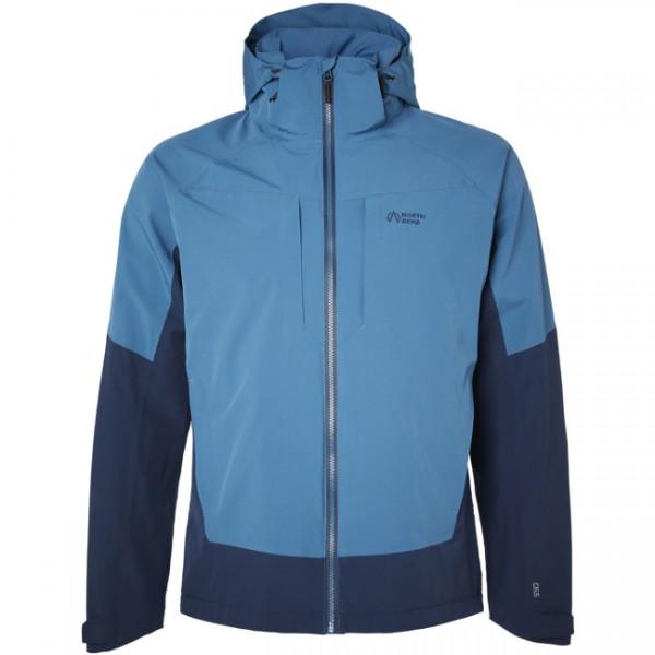 North Bend Herren Flex Jacket Outdorr Jacke blau