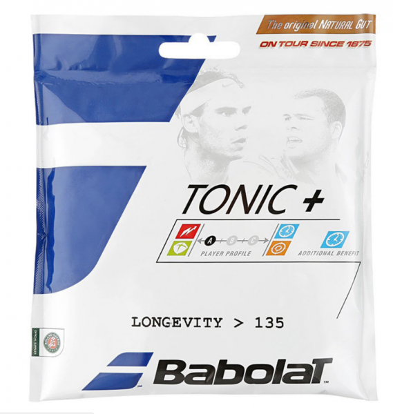 Babolat Naturdarmsaite Tonic+ Longevity 1.35 mm Saitenset