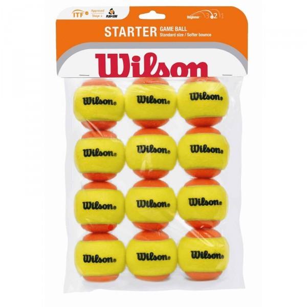 Wilson Starter Red Balls 12er Stage 3 Tennisbälle