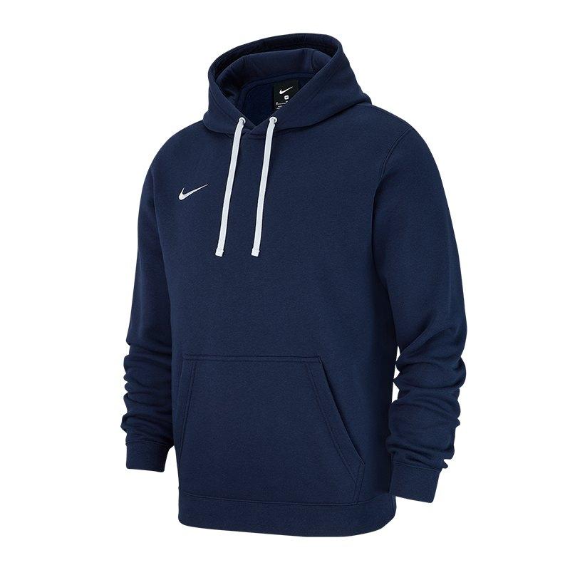 Nike Herren Club 19 Hoodie Kapuzenpullover dunkelblau