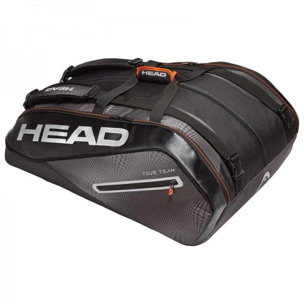 Head Tennistasche Tour Team 15R Megacombi schwarz/silber