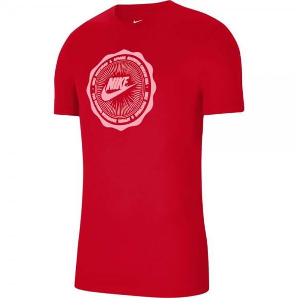 Nike Herren Sportswear SS BTS Futura Shirt rot