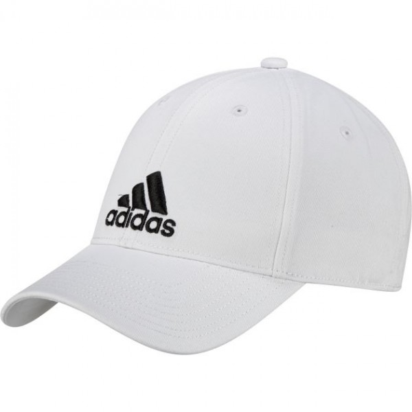 Adidas 6P Cap Cotton SIX PANEL KAPPE weiss