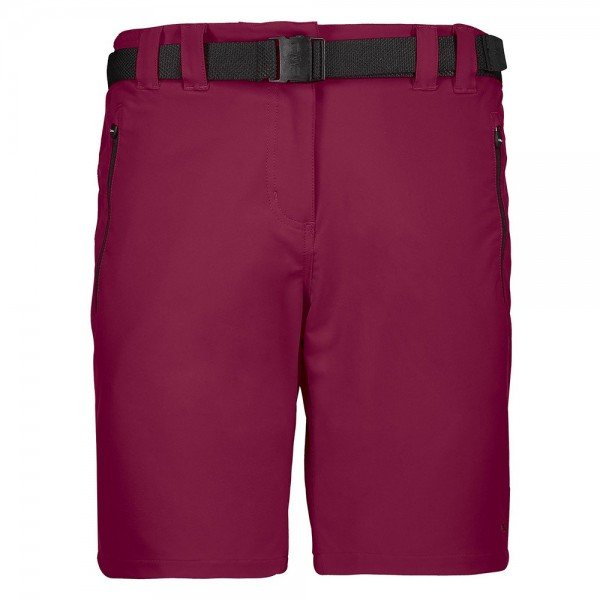 CMP Damen Bermuda Outdoorhose burgundy