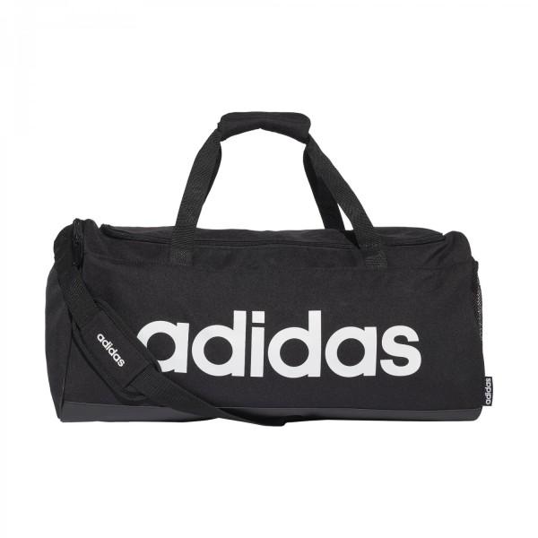 Adidas Linear Duffle M Sporttasche schwarz-weiß