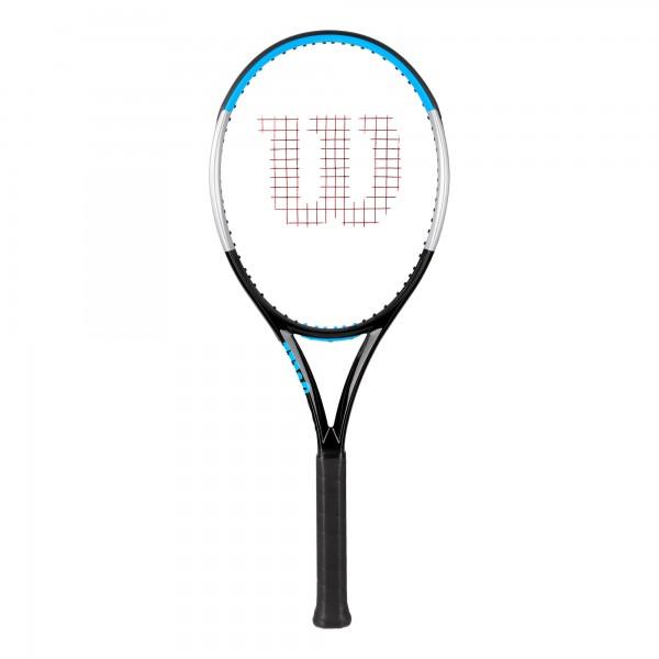 Wilson Ultra 100 V3.0 Tennisschläger schwarz-blau-grau