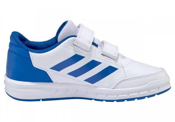 Adidas Kinder Alta Sport CF K Turnschuh Fitnessschuh weiß-blau