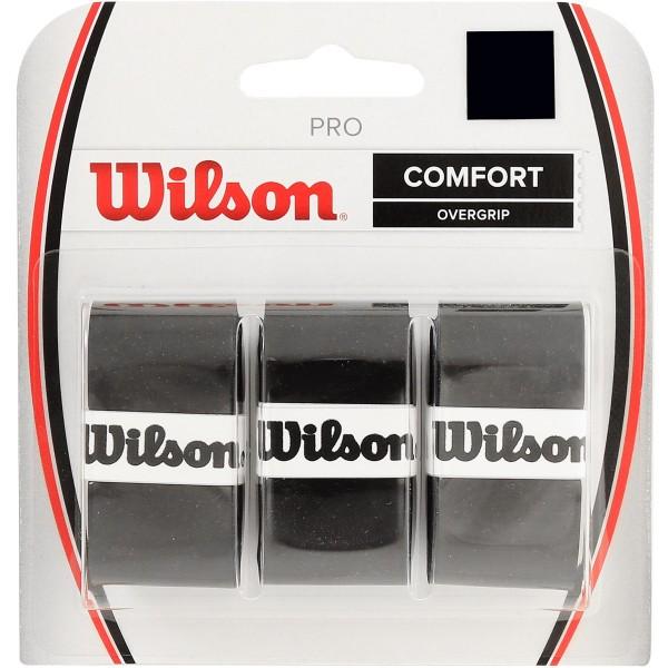 Wilson Pro Overgrip 3er schwarz