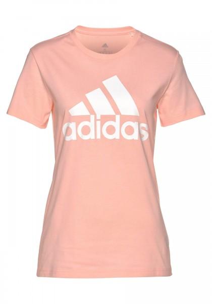 Adidas Damen Badge of Sport T-Shirt Freizeitshirt rosa
