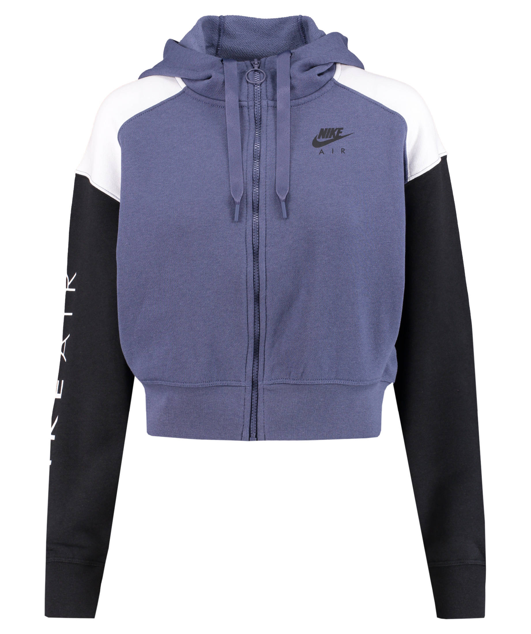 sports shoes 9c148 b5b7b Nike Damen Air Zip Hoodie lila-schwarz-weiß
