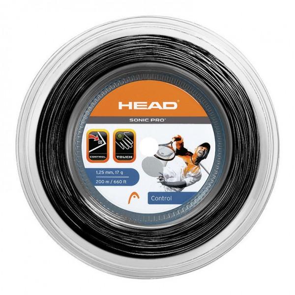 Head Sonic Pro 200m Saitenrolle schwarz