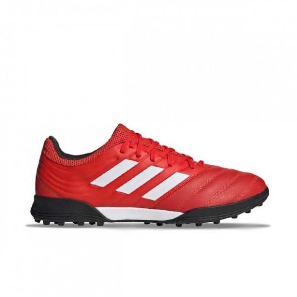 Adidas Herren Copa 20.3 TF Nocken Fußballschuh rot-weiß-schwarz