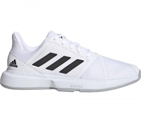Adidas Herren Jam Bounce Allcourt Tennisschuh weiß-schwarz