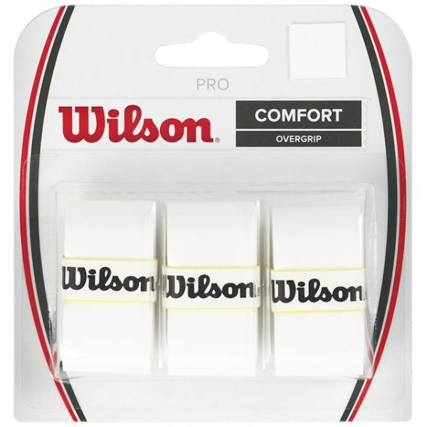 Wilson Pro Overgrip 3er weiss