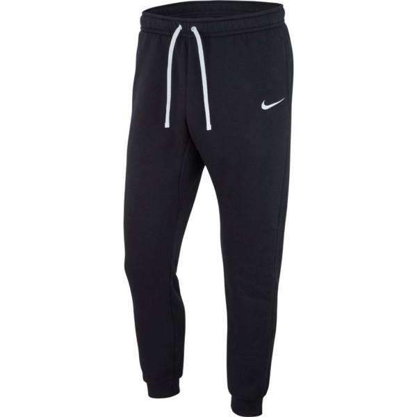 Nike Herren Club 19 Cuffed Fleece Trainingshose Jogginghose schwarz-weiß