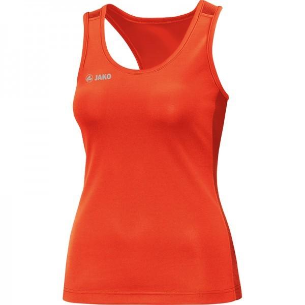 Jako Tank Top Sprint Damen flame Laufshirt laufen Joggen Muskelshirt Fitness TOP
