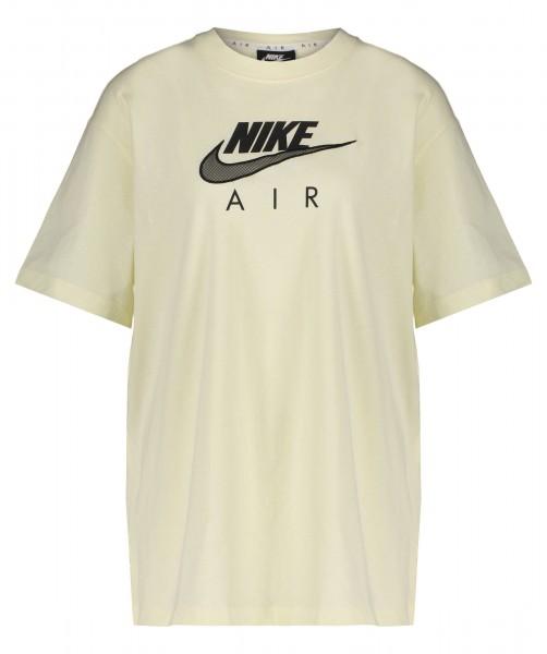 Nike Damen Sportswear Air Boyfriend T-Shirt beige