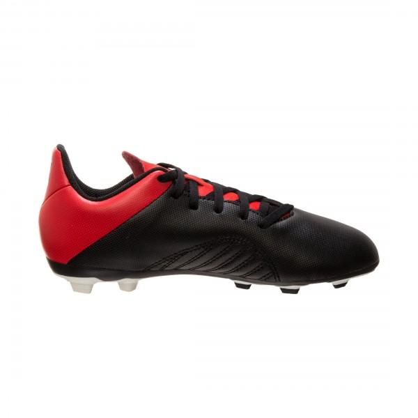 Adidas Kinder X 18.4 FxG Fußballschuh schwarz-rot-weiß
