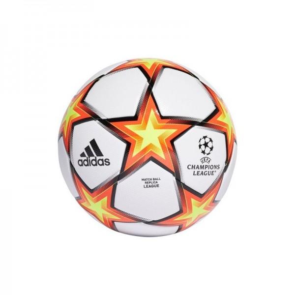 Adidas Uefa Champions League Finale 21 Fußball weiß-orange-gelb