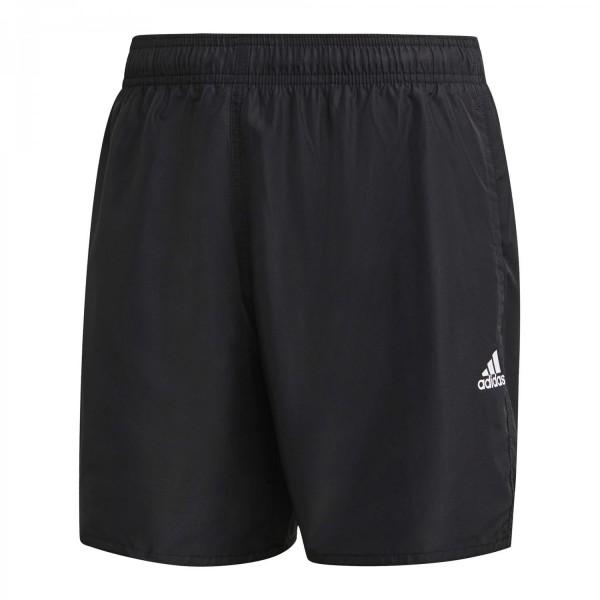 Adidas Herren Solid CLX Badeshort Badehose schwarz