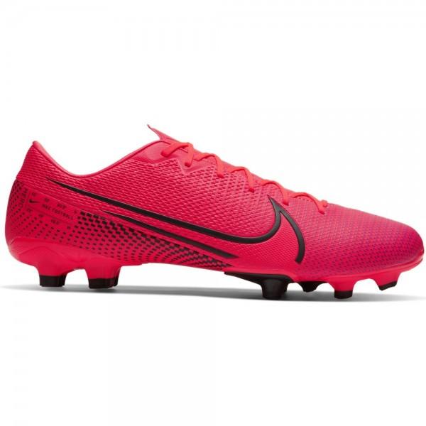 Nike Herren Vapor 13 Academy FG/MG Fußballschuh rot-schwarz-lila