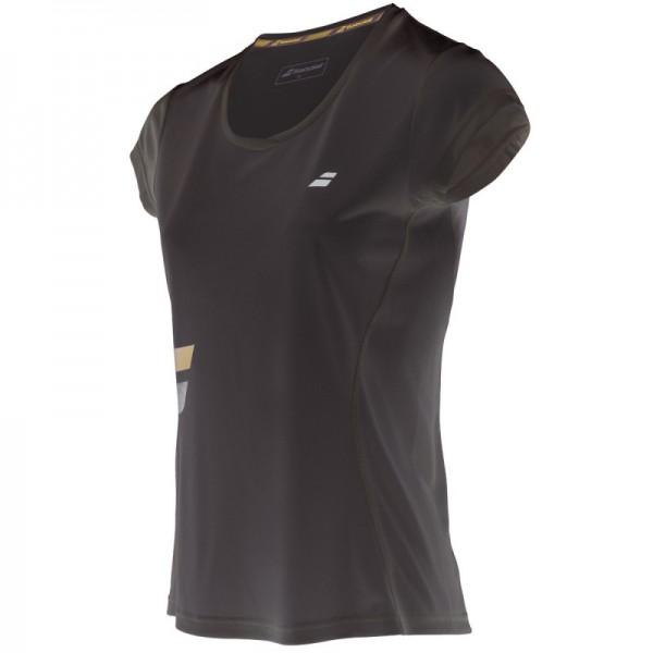 Babolat Core Flag Club T-shirt Damen schwarz