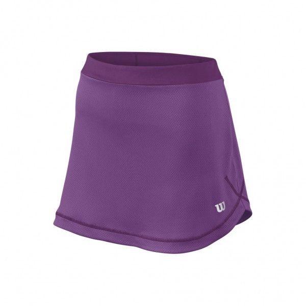Wilson Spring Mesh 12,5 Skirt lila Tennisrock Tennisbekleidung 2016