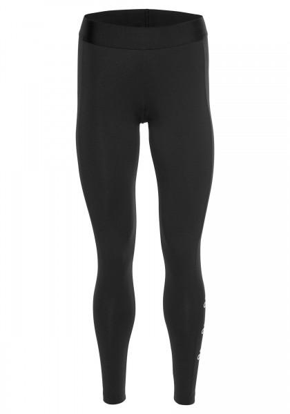 Adidas Damen Leggings Stacked Tight schwarz-weiß