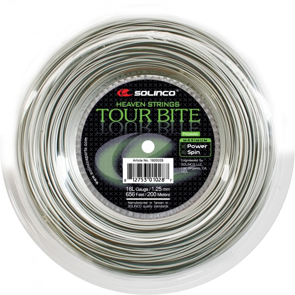 Solinco Tour Bite 1,30 mm 200 Meter Tennis Saitenrolle