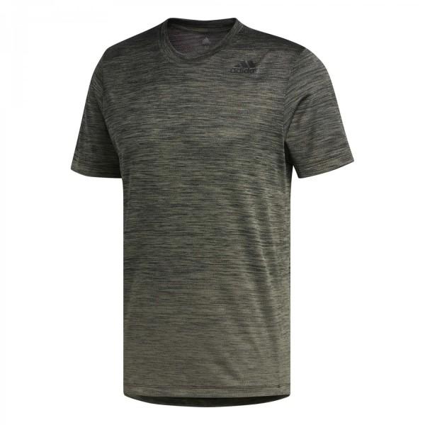 Adidas Herren Gradient Tee Funktionsshirt Trainingsshirt grün
