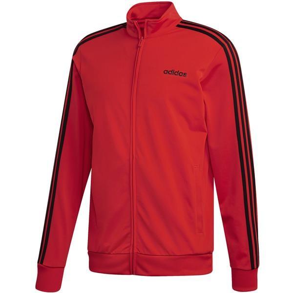 Adidas Trainigsjacke Vintage 3 Streifen rot