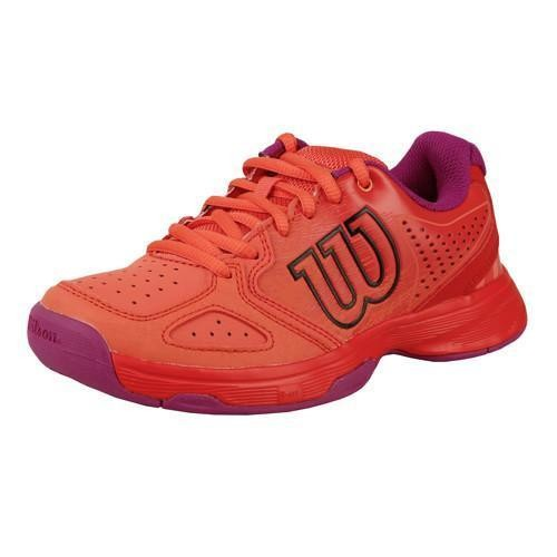 Wilson KAOS COMP Junior rot - pink Tennisschuh Kinder
