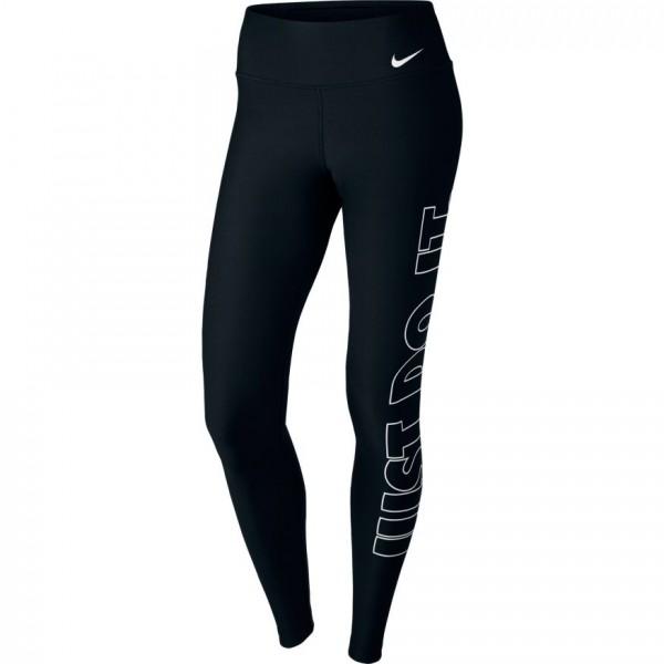 Nike Damen Performance Power Tight Poly JDI Grx schwarz