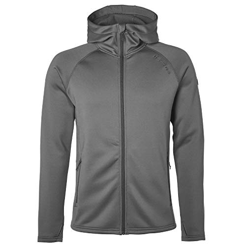 North Bend Herren Vector Full Zip Hoodie Kapuzenjacke grau