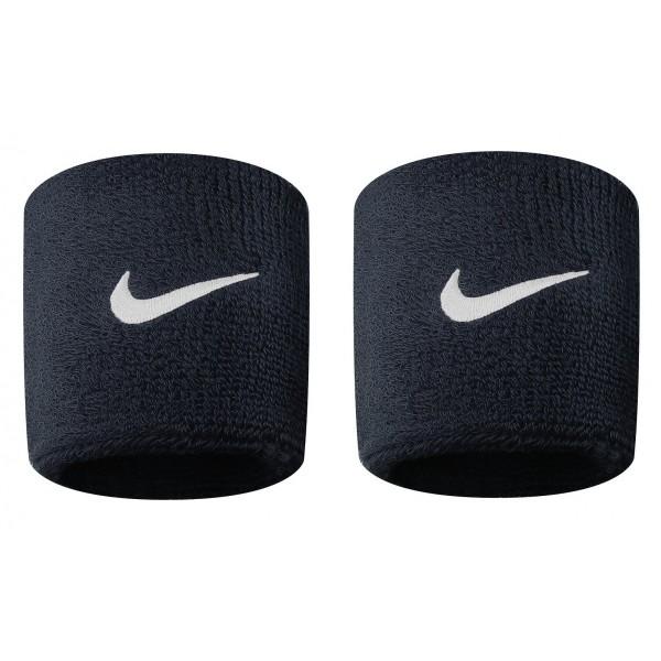 Nike Swoosh Schweißband 2er Pack schwarz-weiß