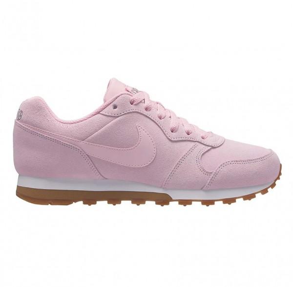 Nike Damen Freizeitschuh MD Runner 2 SE pink/weiß