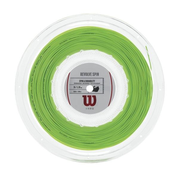 Wilson Revolve Spin 200m Grün Saitenrolle 1.30 mm