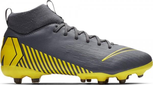 Nike Kinder Fussballschuhe Superfly 6 Academy Grau Gelb