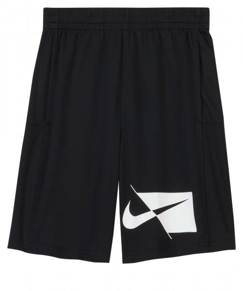 Nike Kinder Dri-Fit Trainingsshort Sweatshort schwarz-weiß