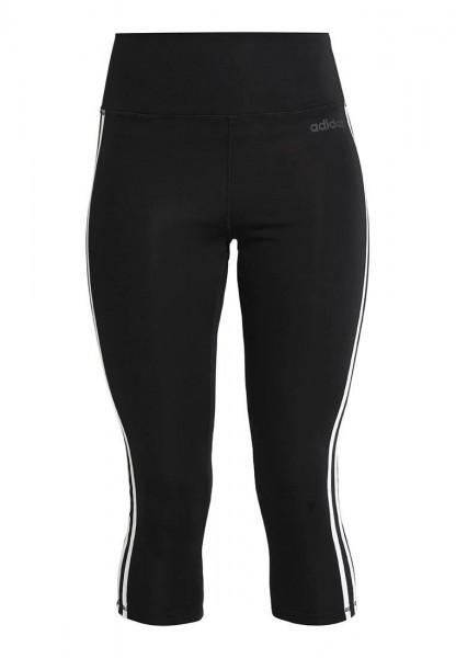 Adidas Damen Leggings 3/4 Tight schwarz-weiß