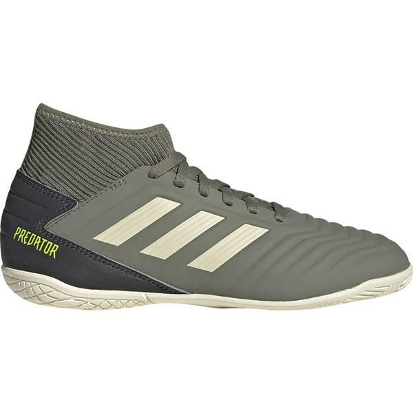 Adidas Kinder Predator 19.3 IN Hallenschuh grün-weiß-schwarz
