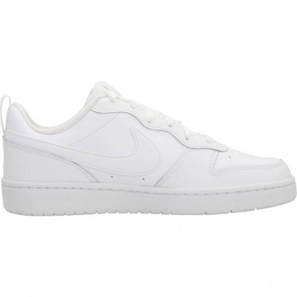 Nike Kinder Court Borough Low 2 Sneaker Freizeitschuh weiß