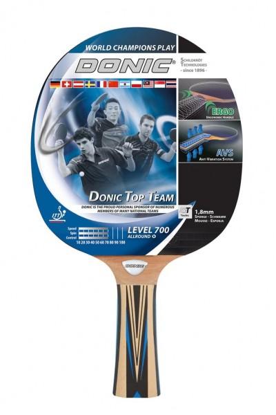 Donic-Schildkröt TOP Team 700 Tischtennisschläger