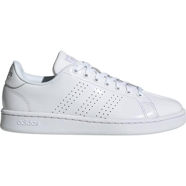 Adidas Damen Advantage Sneaker Freiezitschuh weiß